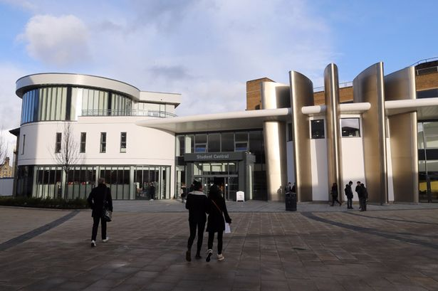 The University of Huddersfield campus
