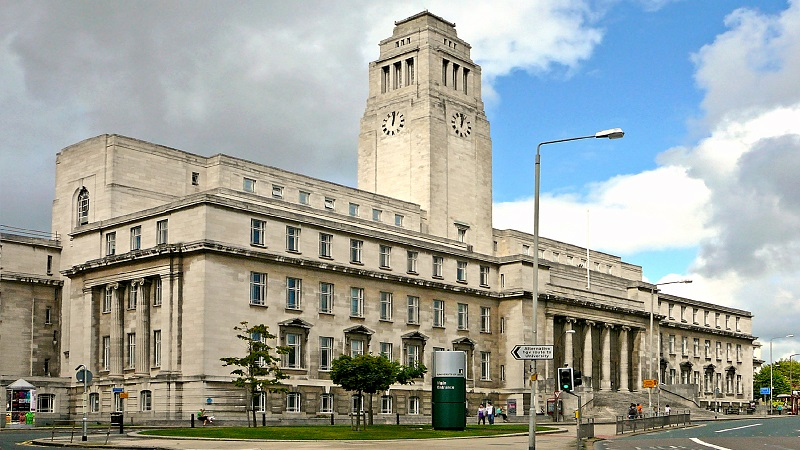 The University of Leeds campus