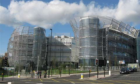 University of Northumbria at Newcastle campus