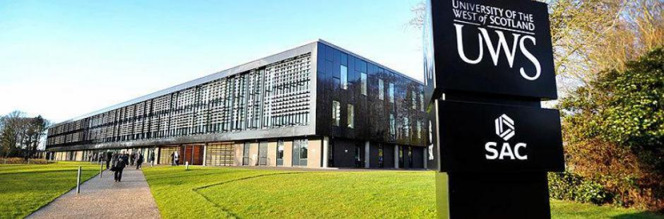 University of the West of Scotland campus